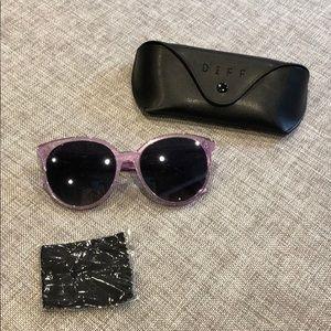 Diff eyewear Cosmo amethyst sunglasses